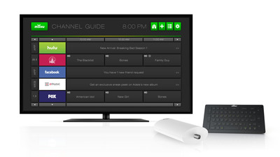 Mohu Channels and channel guide.  (PRNewsFoto/Mohu)