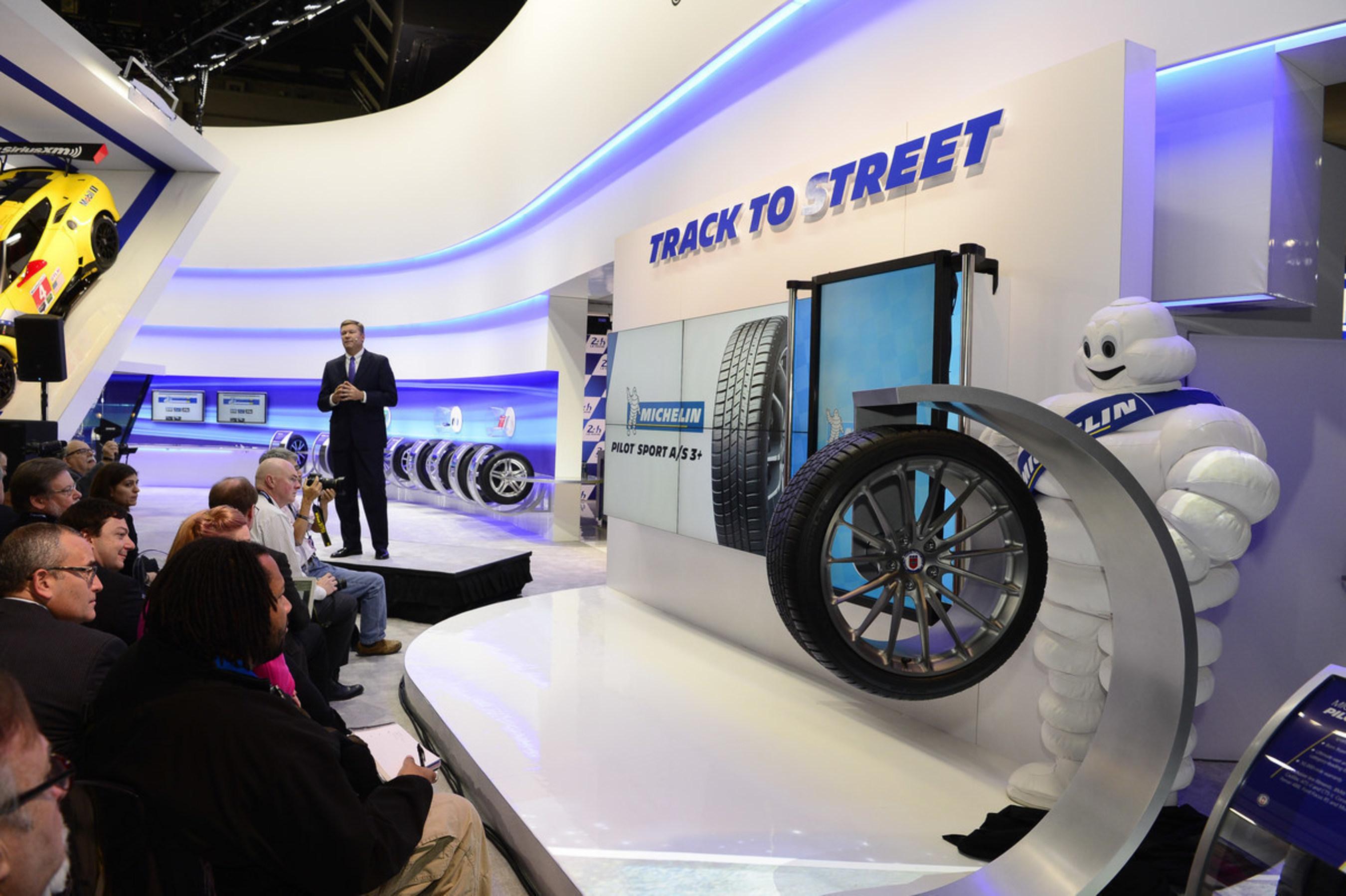 Michelin Introduces New Pilot Sport AllSeason Tire At North - Motor trend car show greenville sc