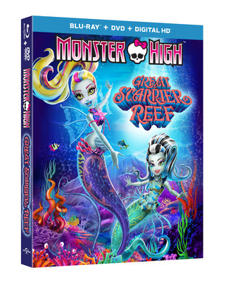 From Universal Pictures Home Entertainment: Monster High: Great Scarrier Reef