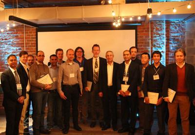 Tom Insel, Director, NIMH with awardees of Inscopix's DECODE Grant Program