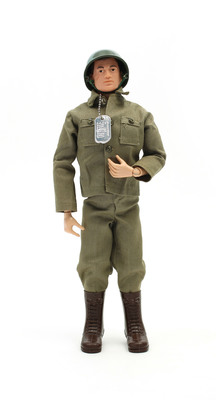 G.I. Joe(R) was chosen by the public as the top toy in the '100 Toys (& their Stories) that Define Our Childhood.' Image by Black Market. (C) The Children's Museum of Indianapolis.