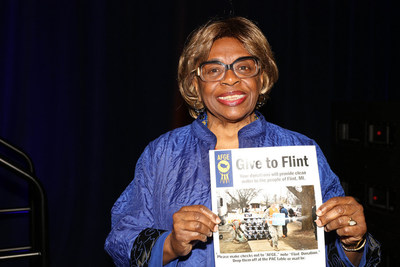 National Vice President of the American Federation of Government Employees Dorothy James is proud that her union is standing up to help the residents of Flint, Mich.