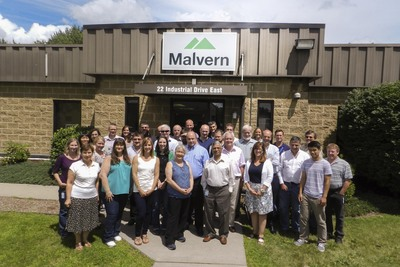 The Malvern MicroCal team pictured at the company's Northampton MA facility