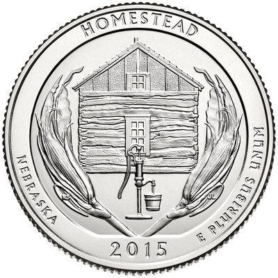 Homestead National Monument of America Quarter