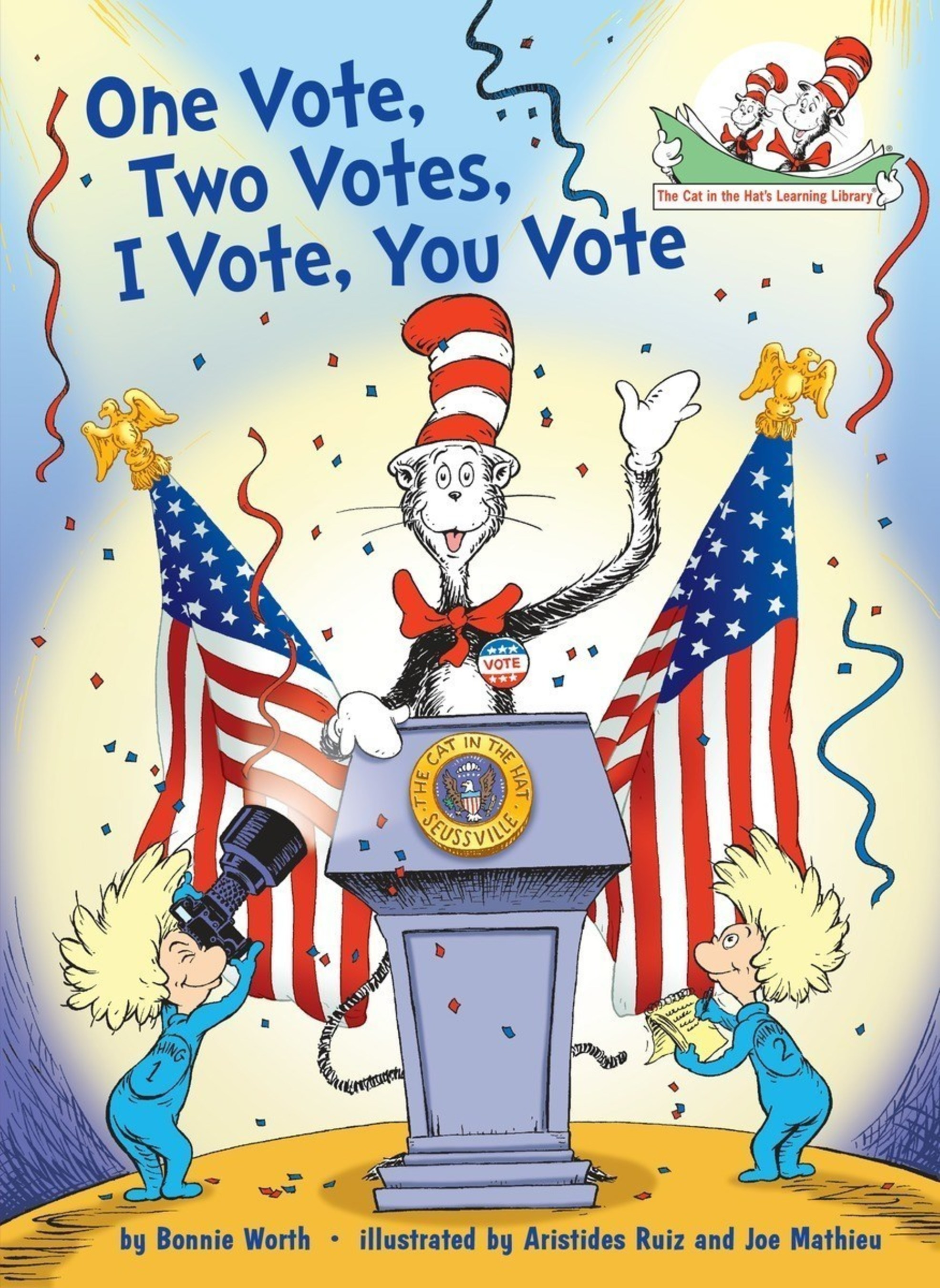 One Vote, Two Votes, I Vote, You Vote Jacket Image; On Sale: July 26, 2016
