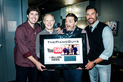The Piano Guys Reach 1 Billion Views on YouTube - Photo Credit: Tim Norris