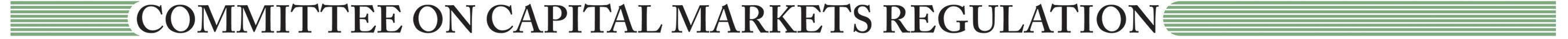 Committee on Capital Markets Regulation logo