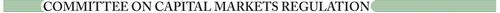 Committee on Capital Markets Regulation logo. (PRNewsFoto/Committee on Capital Markets Regulation) (PRNewsFoto/)