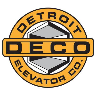 Detroit Elevator Company logo.