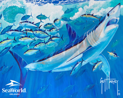 SeaWorld Parks & Entertainment (SEA) and world-renowned marine artist and conservationist Guy Harvey today announced a new partnership focused on ocean health and the plight of sharks in the wild.  The two organizations will partner to raise awareness of these important issues, and collaborate on science and research to increase understanding of how to better protect these critical predators and their habitats.