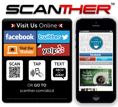 Social Connection The Smart Way. Smart Signs and Mobile Sites by Scanther.
