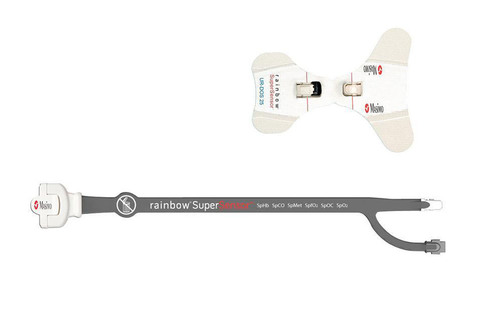 The rainbow(R) Universal ReSposable SuperSensor(TM) - with disposable optical sensor (Super UR-DOS(TM) - top) ...