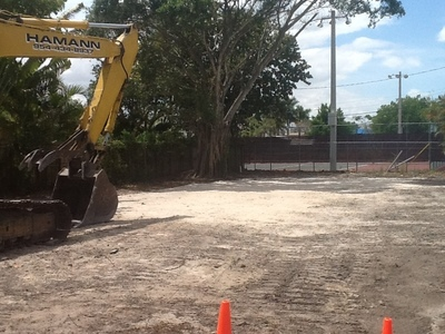 The City's newly acquired property was the site of two multi-family structures that were demolished on April 9, 2014. (PRNewsFoto/City of Wilton Manors)