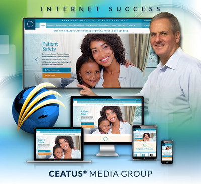 American Society of Plastic Surgeons Chooses Ceatus Media for its New Website Design