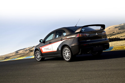 Lancer Evolution Experience vehicle.  (PRNewsFoto/Mitsubishi Motor Sales of America, Inc.)