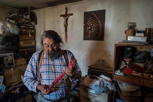 Pine Ridge project. (PRNewsFoto/Warriors from the Reservation) (PRNewsFoto/WARRIORS FROM THE RESERVATION)