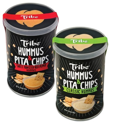 Tribe's new pita chip and hummus 'To Go' packs are available in the brand's most popular hummus flavors - Classic and Sweet Roasted Red Pepper