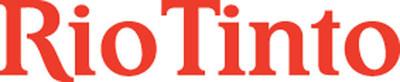 Rio Tinto logo.