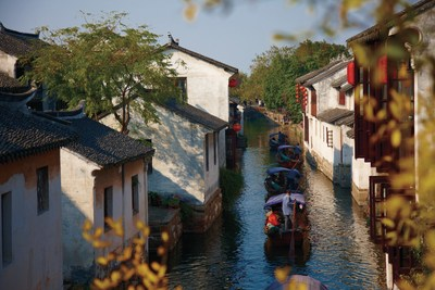 Zhouzhuang's Scenery on Display at the International Tourism Seminar during the 2015 Milan Expo