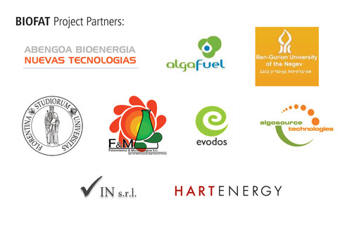 BIOFAT Partner logos.  (PRNewsFoto/Hart Energy)