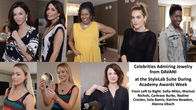 IT'S ALL ABOUT THE JEWELS: Celebrities and their Stylists Previewed Jewelry from DAVANI for the
