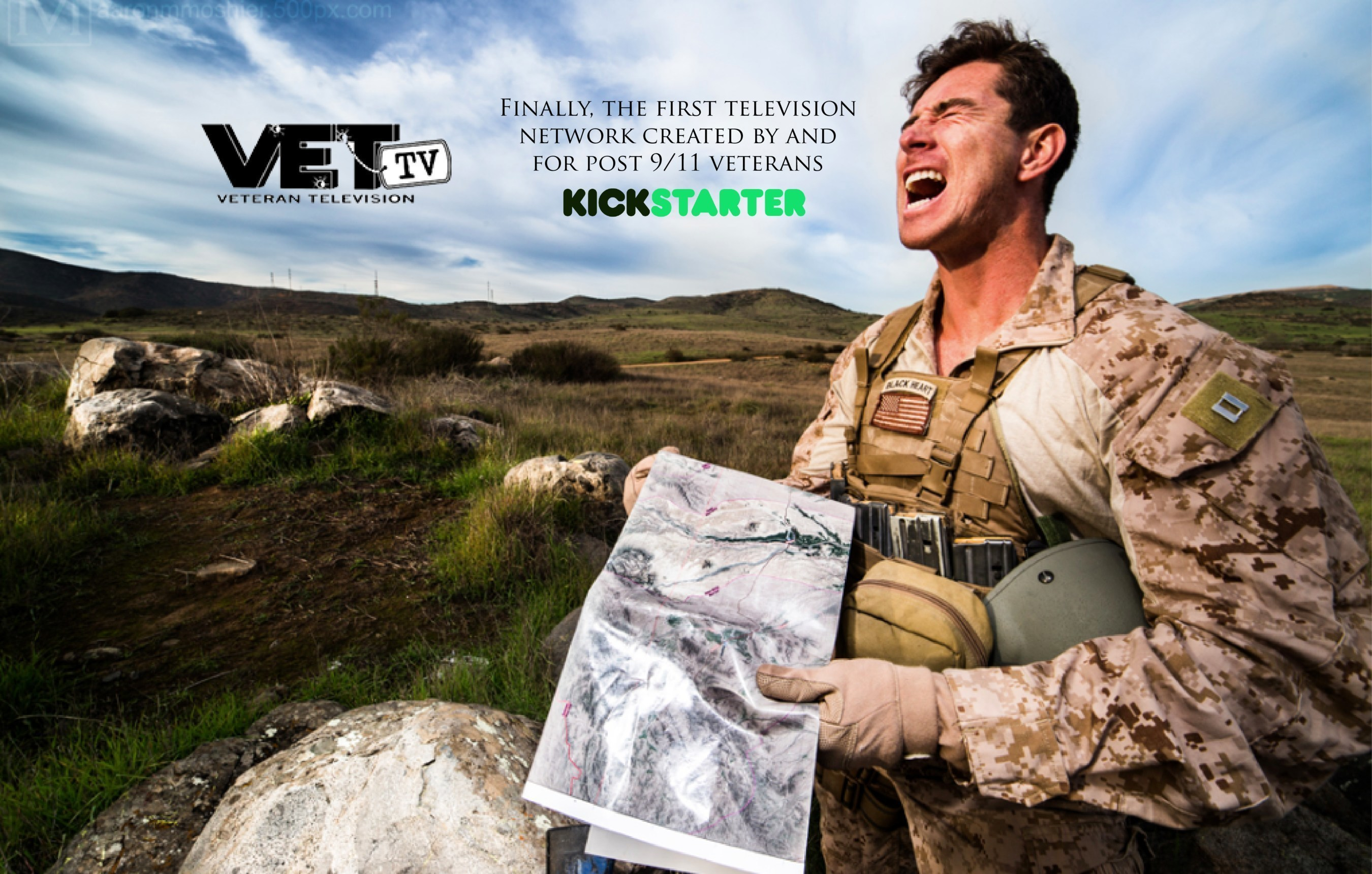 Comedy Central + Military Channel + Hulu = A streaming TV network with all original content made by veterans for veterans.