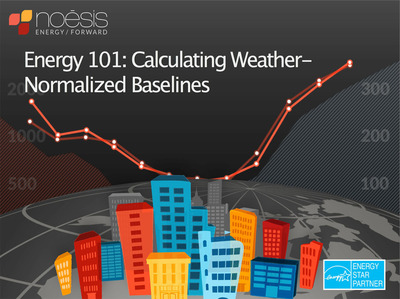 Learn why weather-normalized energy baselines provide the foundation for any energy management process in this free webinar from Noesis Energy. www.noesisenergy.com. (PRNewsFoto/Noesis Energy) (PRNewsFoto/NOESIS ENERGY)