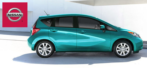 The 2014 Nissan Versa Note is equipped with a number of best-in-class and class-exclusive features.  (PRNewsFoto/Briggs Auto Group)
