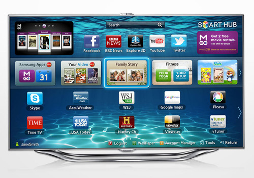 Samsung First To Offer M-GO Digital Entertainment Service On Smart TV Platform