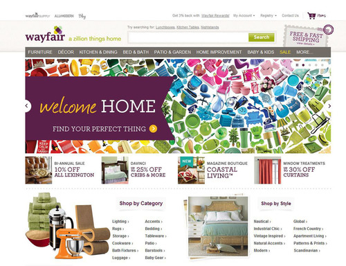 Wayfair.com.  (PRNewsFoto/Wayfair.com)