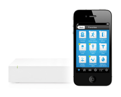 Home Control for Everyone - the New INSTEON Hub Makes Home Control Easy with iOS and Android apps.  (PRNewsFoto/INSTEON)