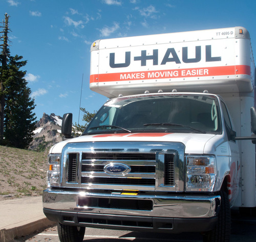 U-Haul Ranks Washington and Vermont as Top-Growth States for 2012.  (PRNewsFoto/U-Haul)