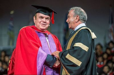 Victor Dahdaleh receives an honorary Doctor of Laws degree at York University in Toronto