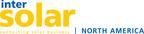 Intersolar North America 2011 logo. Produced by Solar Promotion International GmbH, July 12-14, 2011, San Francisco, CA, Moscone Center West. http://www.intersolar.us. (PRNewsFoto/Solar Promotion International GmbH)