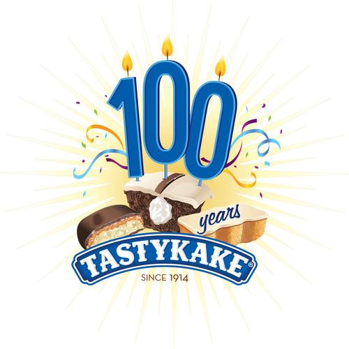 Tastykake Celebrates 100 Years. (PRNewsFoto/Tastykake) (PRNewsFoto/TASTYKAKE)
