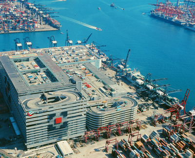 ATL Logistics Centre Hong Kong.  (PRNewsFoto/Goodman Group)