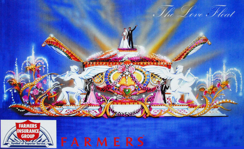 Farmers Insurance Makes History In Announcing 'The Love Float,' The First Ever Live Wedding