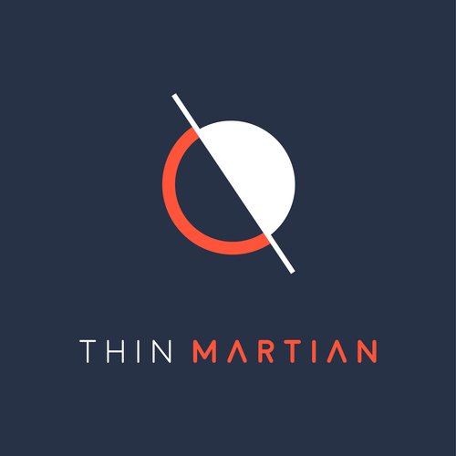 Thin Martian Logo