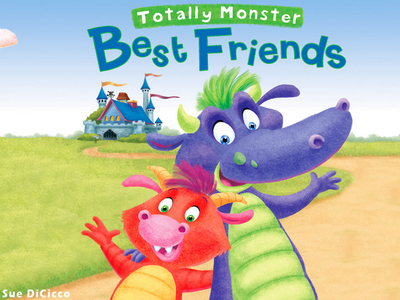 Totally Monster Best Friends (PRNewsFoto/Silver Dolphin Books)