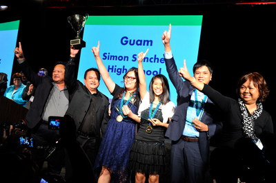2014 National ProStart Invitational Winner - First place, Culinary: Simon Sanchez High School in Yigo, Guam. (PRNewsFoto/National Restaurant Association )