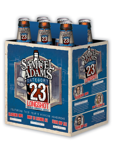 New Samuel Adams® LongShot® Variety Six-Pack Hits Shelves Nationwide Featuring Winning Category 23