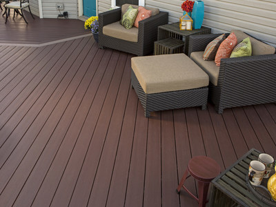 AZEK, the leading brand of capped polymer decking, unveiled four new colors from the popular Harvest and Arbor Collections during the International Builders' Show in Las Vegas.