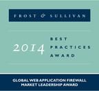 2014 Global Web Application Firewall Market Leadership Award