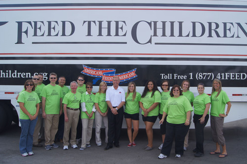 Fazoli's Pays It Forward for Feed The Children