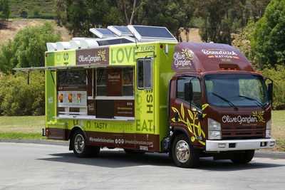Olive Garden Celebrates Breadstick Sandwiches with Nationwide Food Truck Tour