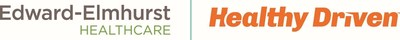 "Edward-Elmhurst Healthcare ""Healthy Driven"" Logo"