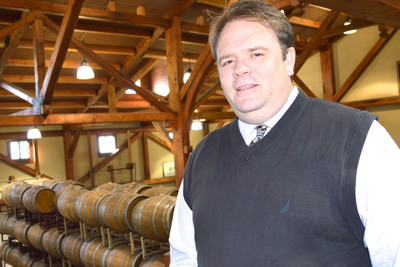 Brian Cheeseborough joins Chateau Morrisette Winery in Floyd, Virginia as Oenologist and Winemaker. With an extensive winemaking background and a collection of award-winning wines, he most recently worked in France's Bordeaux region and in Argentina for the Malbec harvest. Previously, he was founding winemaker and business partner for Grizzly Republic, a successful California winery.  (PRNewsFoto/Chateau Morrisette Winery)