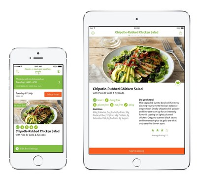 HelloFresh Makes Meal Time Simpler, More Enjoyable with Free Mobile App