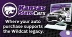 Show Purple Pride with Kansas State Cars.  (PRNewsFoto/Kansas State Cars)