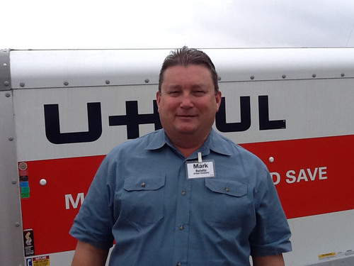 Mark Reinitz Ready to Lead U-Haul Company of Corpus Christi to New Heights of Success.  (PRNewsFoto/U-Haul)